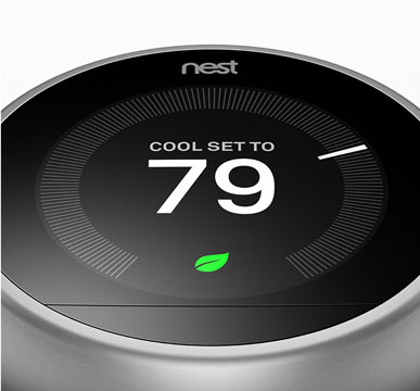 You can now control your nest thermostat with your