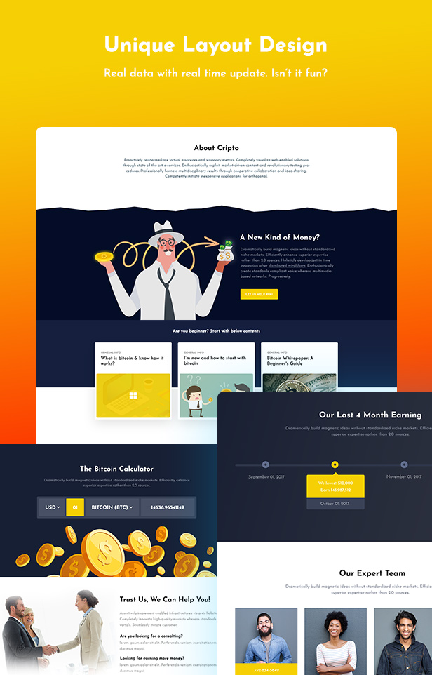 Creptaam  Download Creptaam – Bitcoin, ICO Landing and Cryptocurrency WordPress Theme nulled 5