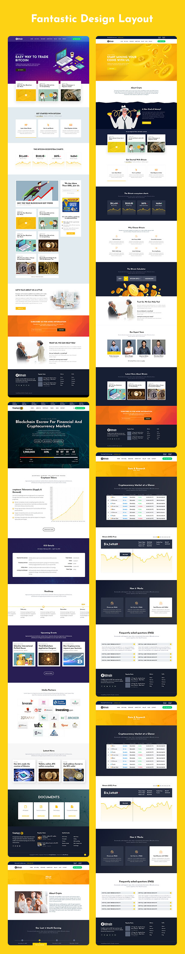 Creptaam  Download Creptaam – Bitcoin, ICO Landing and Cryptocurrency WordPress Theme nulled 7