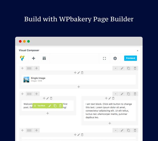 creative personal portfolio WordPress theme